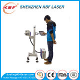 10W Flying Fiber Laser Marking Machine for Plastic Price