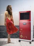 Low Price High Cooling Capability Open Portable Evaporative Air Cooler Lfs-350 with Remote