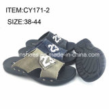Men Comfortable Shoes Casual Slippers Customized Flip Flop (FFCY0412-02)