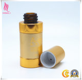 Golden Aluminum Bottle Cosmetic Package