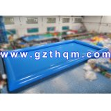 Inflatable Water Pool with UV-Protection Tent Cover/Large Amusement Customized Swimming Pool