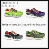 Children Sport Shoes Injection Canvas Shoes Casual Shoes (ZJ428-1)