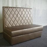High Quality High Backrest Rectangle Hotel Dining Cafe Sofa (SP-KS312)
