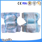 Disposable High Absorbent Baby Diapers/Nappies with Elastic Waistband
