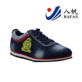 Men′s Washed Denime Upper Casual Sneakers Bf1610186