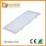 36W Flat Ceiling Indoor 300*600mm Dimmable LED Rectangle Panel Light