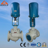 Electric  Control  Valve  with  Globe  Type    Single Seat