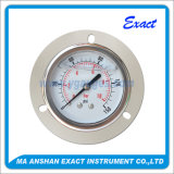 All Ss Manometer-Liquid Filled Pressure Gauge-Front Flange and U Clamp