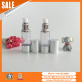 Luxury Cylinder Plastic Airless Serum Pump Bottle