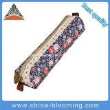 Factory Cheap Flower Print Lace Pen Pencil Case Bag