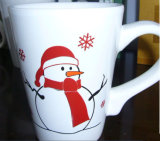 250ml Porcelain Decorative Christmas Milk Mugs for Sale