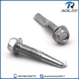 410 Stainless Hex Washer Self Drilling Tek Screw for Steel Structure