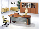 Classic Old Model Melamine HPL Executive Office Table (HX-3603)