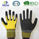 Latex Frosted Gloves, Sandy Finish Safety Work Gloves (SL-RS301)
