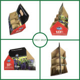 6 Bottled Red and White Wine Carrier Paper Box
