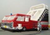 Large Red Inflatable Truck Slide (SL-001)