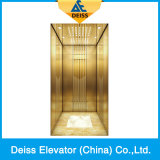 Ti-Plated Vvvf Traction Passenger Home Villa Lift with Opposite Door