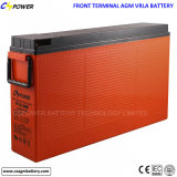 FT12-200ah Deep Cycle Front Terminal AGM Battery for Telecom
