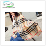 High Fashion Poly Digital Print Wool Scarf for Ladies
