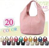 Multi-Color fashion Lady Leather Tote Bag Hot Sale PU Handbag