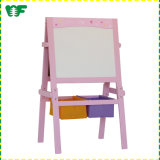 Colorful and Fancy Antique Beech Tabletop Kids Wooden Easel