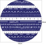 (BC-RT14985) 100% Cotton Round Beach Towel