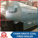 Coal Boiler with Chain Grate