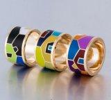 Imitation Jewelry Stainless Steel Enamel Finger Ring