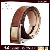 China OEM Factory Supplier Genuine Leather Men Buckle Waist Belts