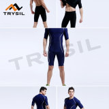 Mens Fashion Sets Short Tops /Short Legging Pants for Gym