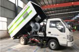 Futian 2600 Wheelbase Sweeping Vehicle with High Quality