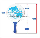 Beach Tennis Wooden Paddle Set for All Ages Fun for Summer Beach Paddle Ball Game