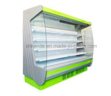 Supermarket Refrigerator with Curtain of Good Quality
