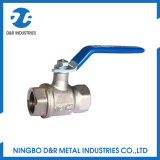 1 /4 Inch Brass Nickle Plating Ball Valve