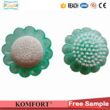 Promotion Plastic Polish Tool Sunflower Pumice Stone Nail Brush (JMC-392C)