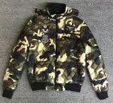 Camouflage Hot Seal Outdoor Jacket with Hiden Hoody