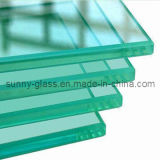 12mm 10mm 8mm Tempered Glass Toughened Glass for The Buliding