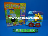 Promotion Wind up Animal Train Toy Plastic Car (833736)