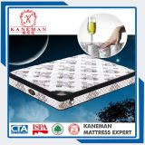 Luxury Foam Edge Pocket Spring Mattress with Elegant Cover