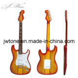Neck Through Body Design High Quality St Electric Guitar