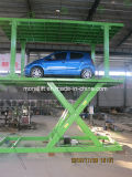 Double decks car lift for parking and rising