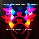LED Light up Flashing Reindeer Antler Headbands