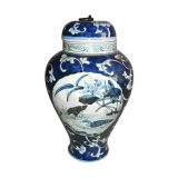Chinese Antique Furniture Ceramic Vase
