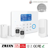 GSM Wireless Home Security Burglar Alarm with Touch Keypad