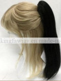 Top Quality Hot Selling Black Style Straight Wavy Style Ponytail Clip in Hair Extesnion