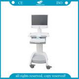 CE &ISO Hospital Laptop Computer Cart (AG-WT002A)