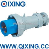 63A 3p Blue Angular Sockets Plugs (QX1571)