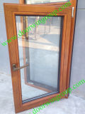 Solid Oak Wood Aluminium Tilt&Turn Window (Middle East Design)