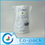 Aluminum Foil Laminated Plastic Liquid Bag for Shower Gel Packaging