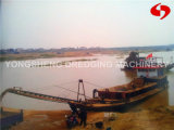 Stone Conveyor Belt Barge